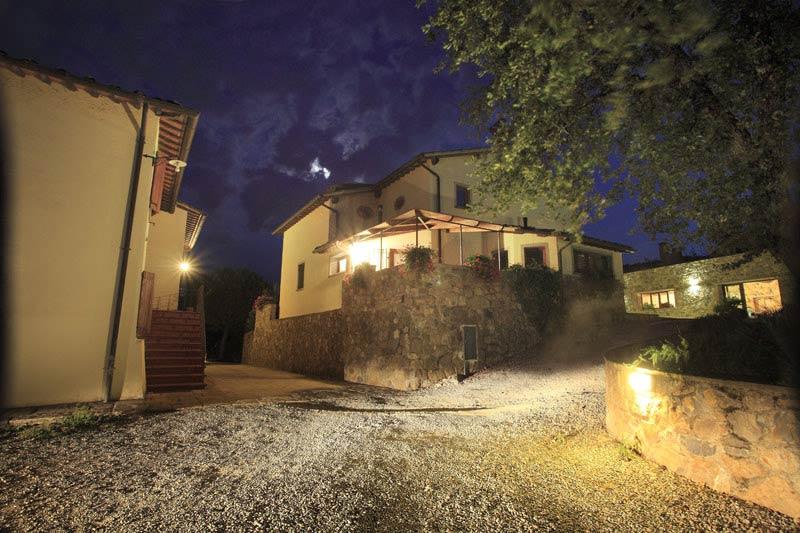Verlichte trouwlocatie Italië