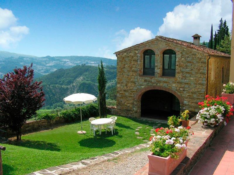 Huisje trouwlocatie Fattoria il Lago Toscane