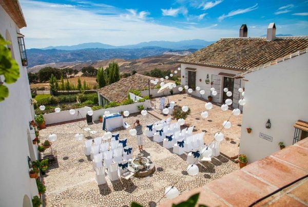 Trouwceremonie hotel Fuente del Sol in Spanje