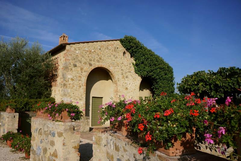 Kamer van trouwlocatie Agriturismo Podere il Pino in Toscane