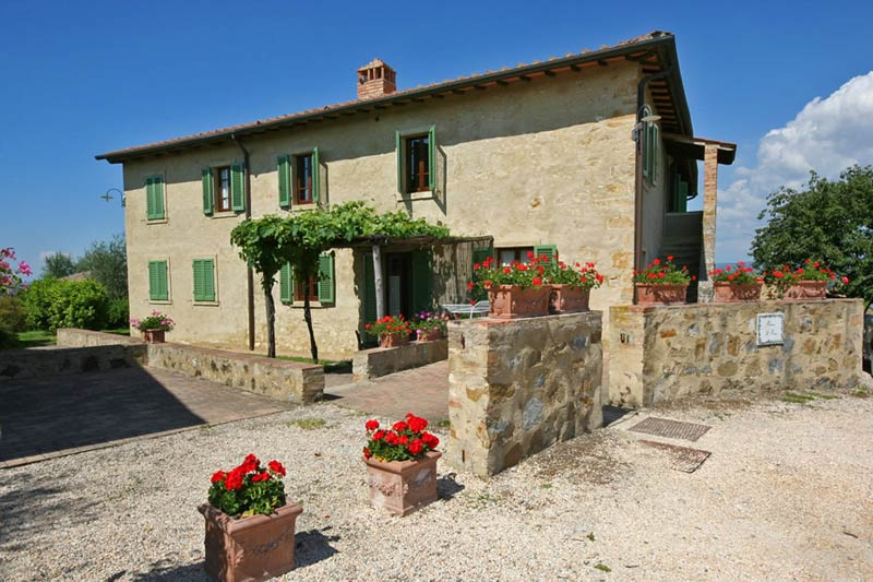 Authentieke agriturismo trouwlocatie Podere il Pino in Italië