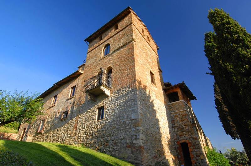 Historisch gebouw trouwlocatie Villa Palagetto Toscane