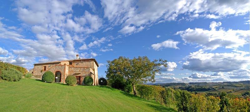 Tuin van trouwlocatie Villa Palagetto Italië