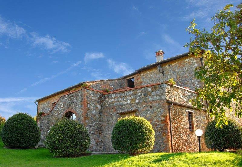 Huisje trouwlocatie Villa Palagetto Toscane