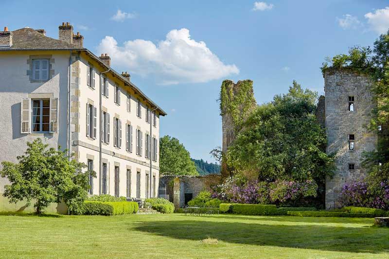 Landhuis en ruïne van Trouwlocatie Abbaye du Palais in Frankrijk