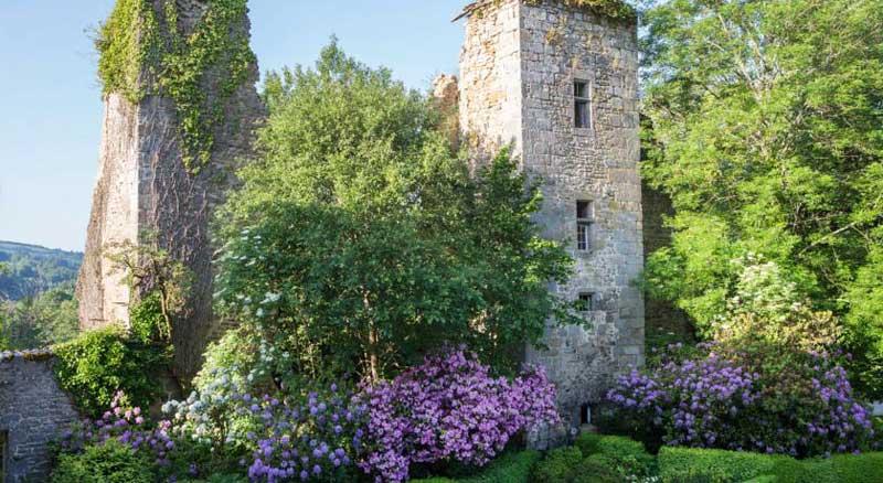 Mysterieuze ruïnes van Abbaye du Palais in Frankrijk