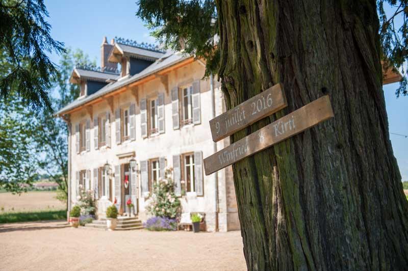 Trouwlocatie Domaine de Savigny in Frankrijk
