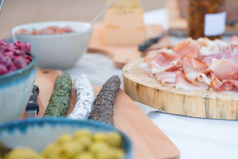Lekker eten bij trouwlocatie Domaine de Savigny