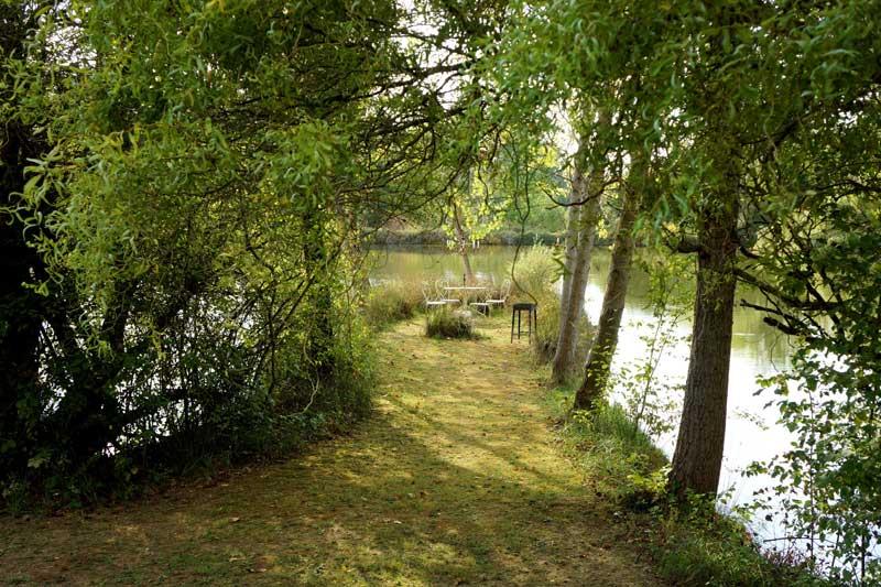 Natuur trouwlocatie Domaine la Douce in Frankrijk