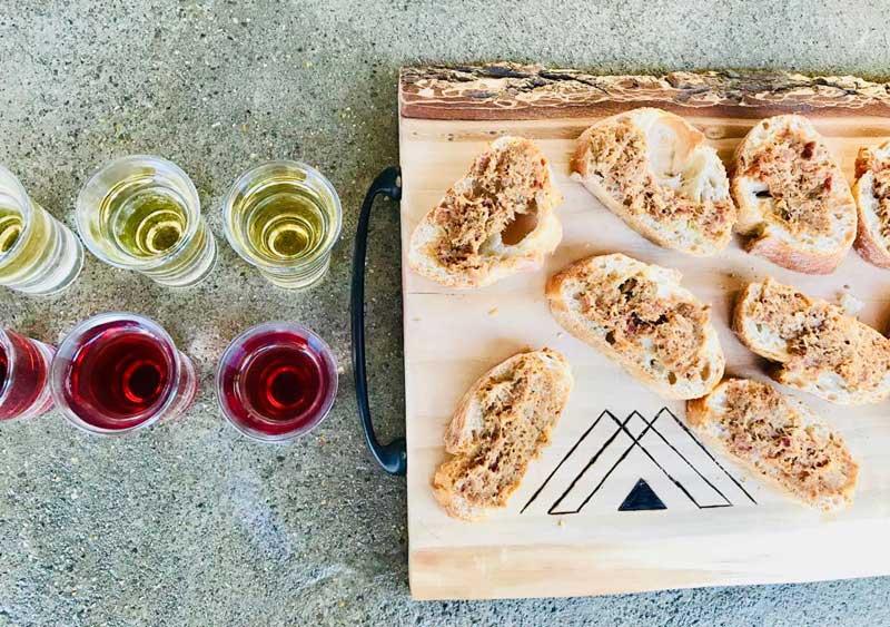 Eten en drinken bij trouwlocatie Domaine la Douce