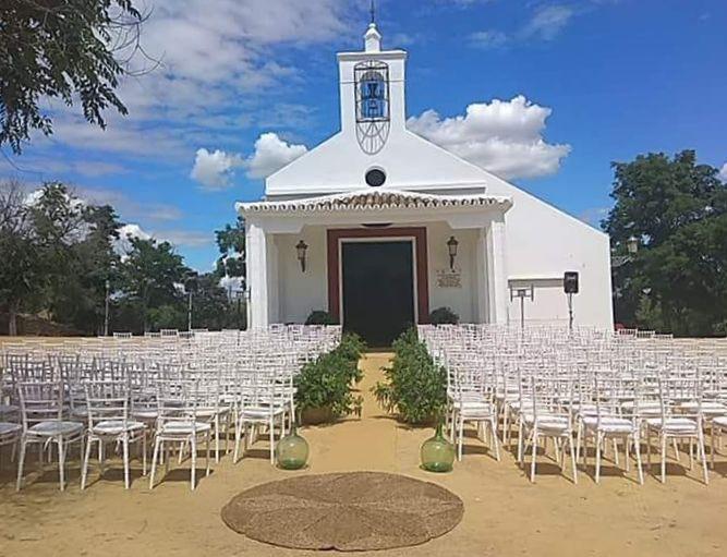 Kapel bij trouwlocatie Cortijo El Esparragal in Spanje