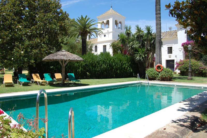 Zwembad Cortijo El ESparragal Spanje