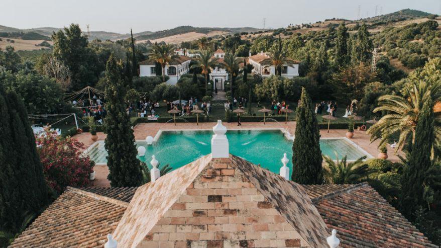 Trouwen bij Finca Monasterio in Spanje