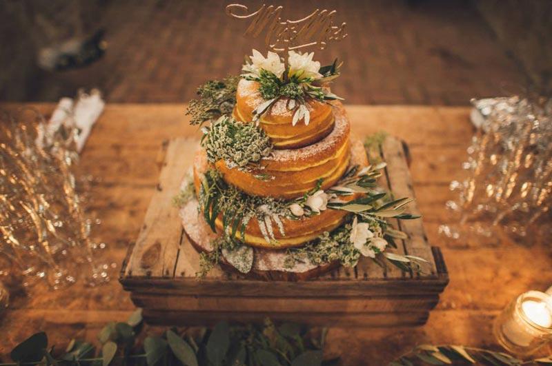 Bruidstaart trouwlocatie Tenuta di Papena in Italie