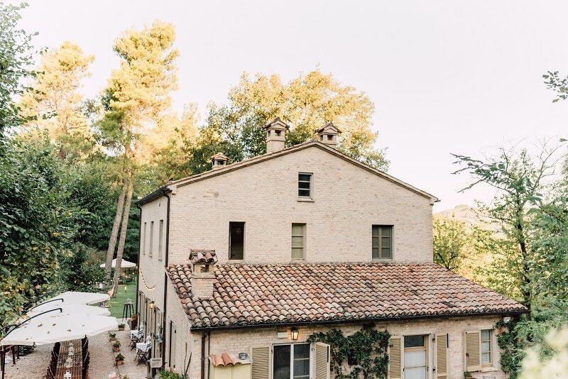 Trouwlocatie Villa Marsi in Le Marche Italië