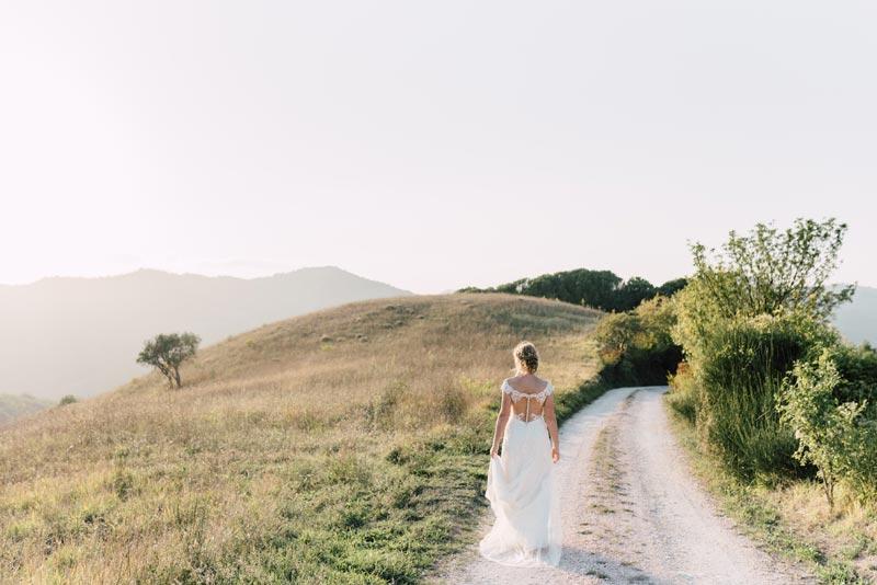 Bruiloft bij trouwlocatie Villa Marsi in Italië