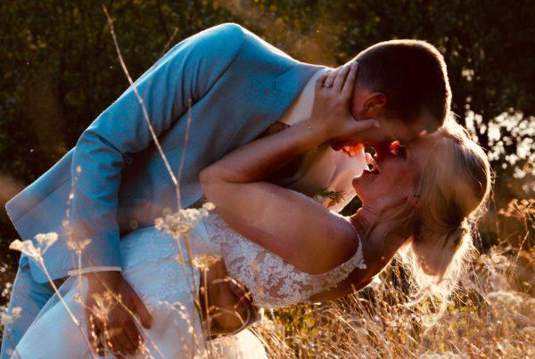 Bruidspaar real wedding frankrijk
